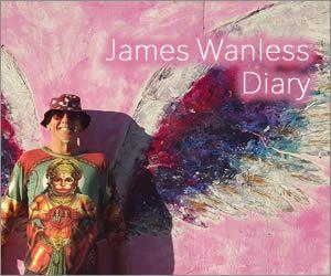 ジェームスワンレスの日記